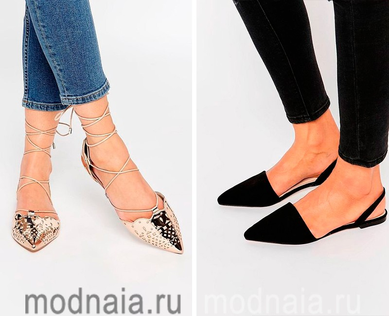 Женская модная обувь весна-лето 2017  50 фото самых трендовых ... 5d91ddae39955