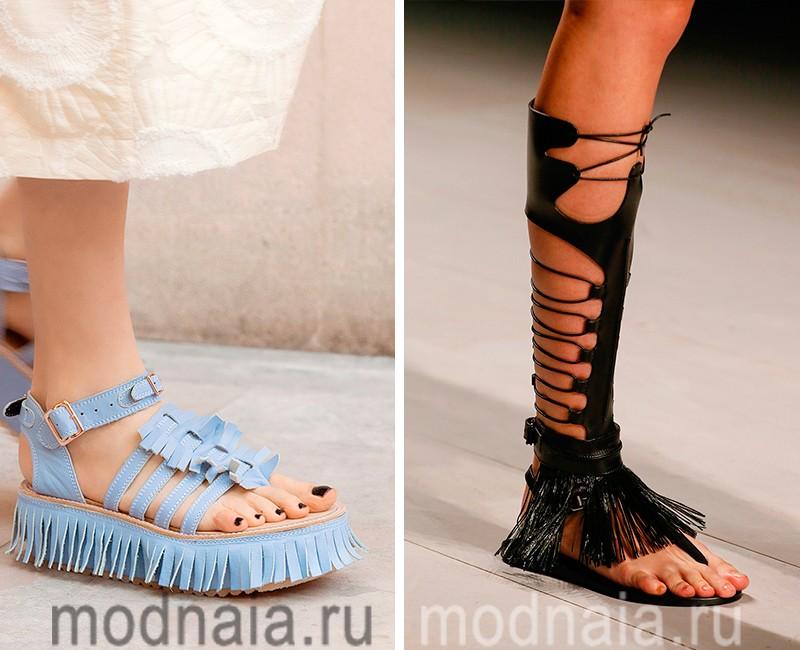 Модная женская обувь сезона весна лето 2017 года – основные тенденции с  фото ... d2c2df592ed1b
