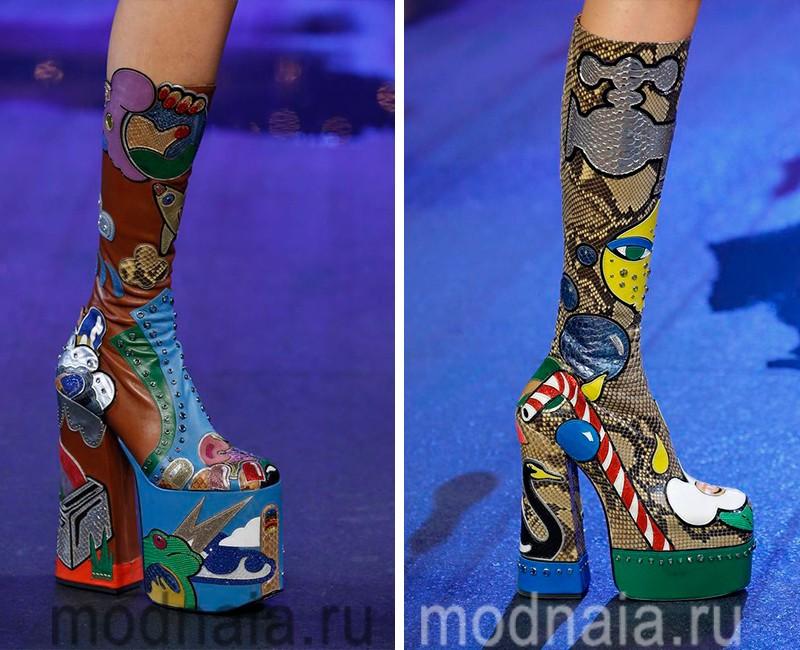 модная обувь весна лето 2017 фото женская