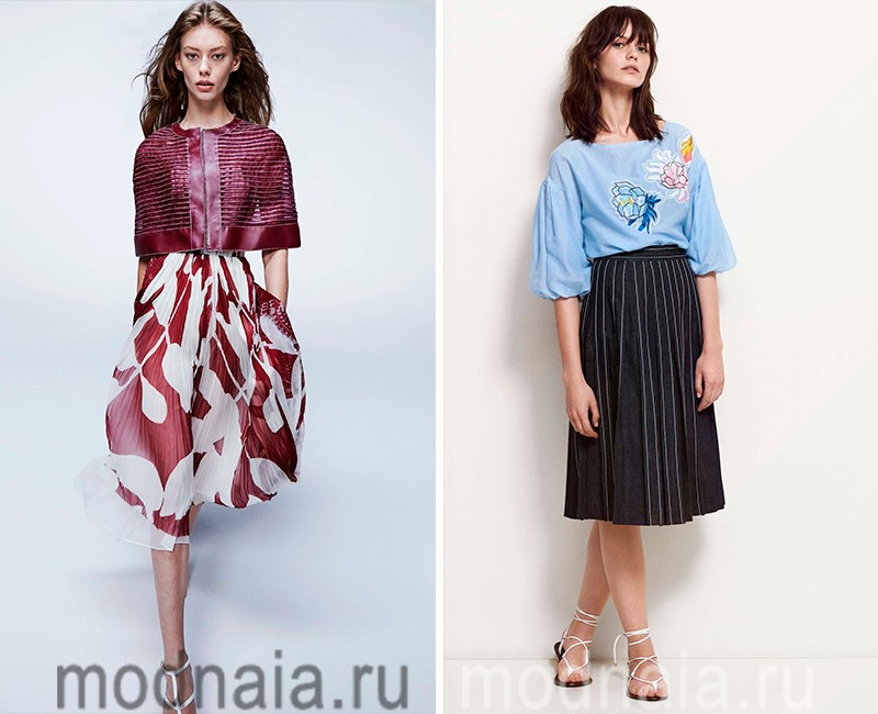 Мода юбки лето 2017 доставка