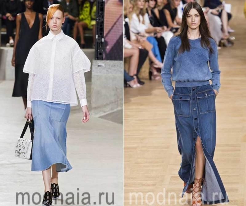 модные-джинсовые-юбки-2017-3