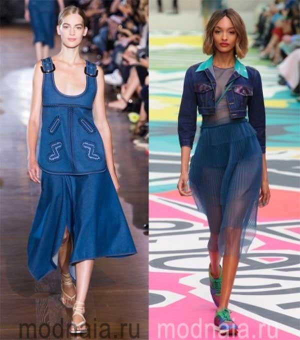 модные-джинсовые-юбки-2017