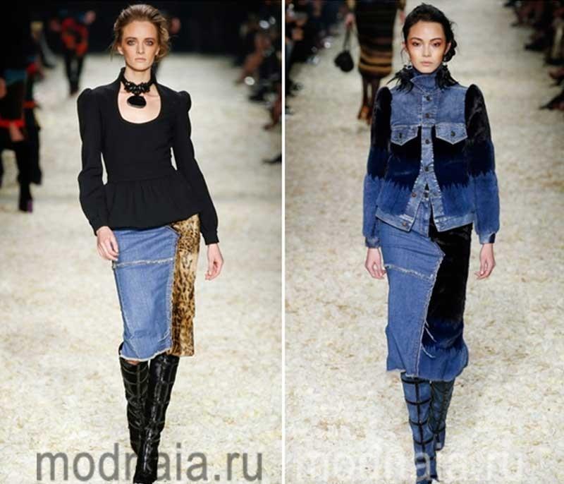 модные-джинсовые-юбки-тенденции-2017