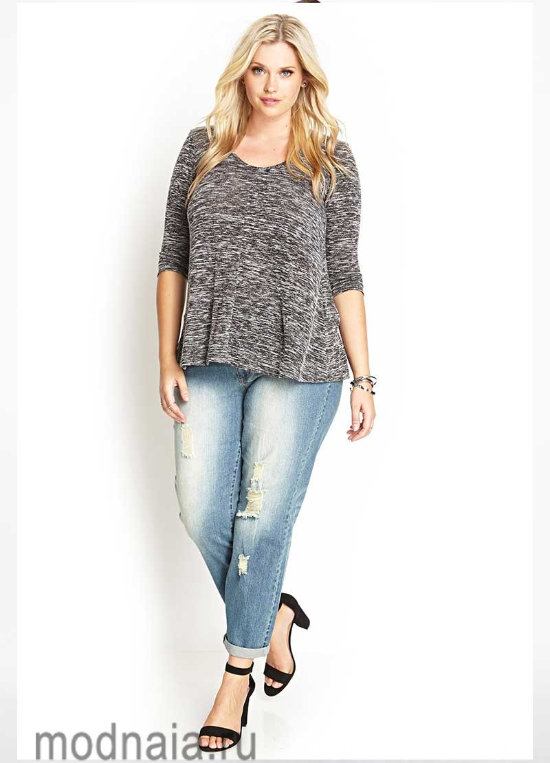 модные-джинсы-для-полных-2017-году