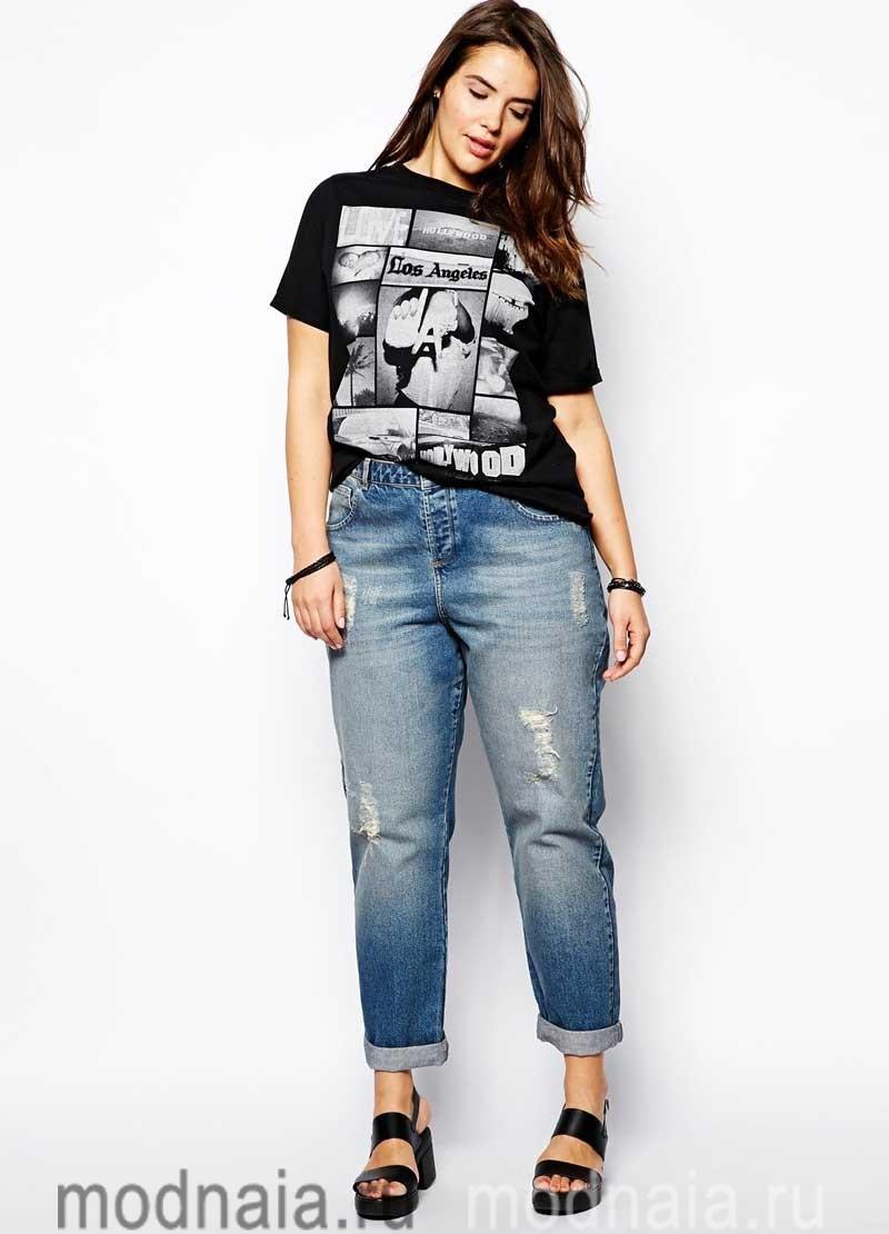 модные-джинсы-для-полных-2017