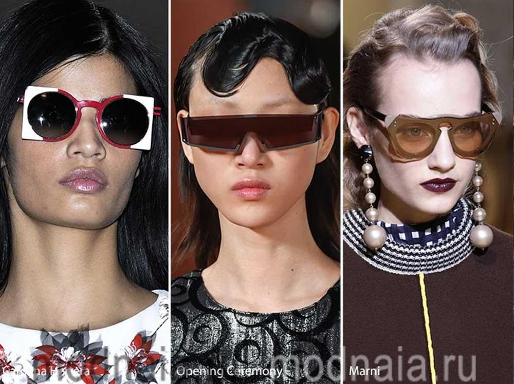 модные очки 2017 футуристические