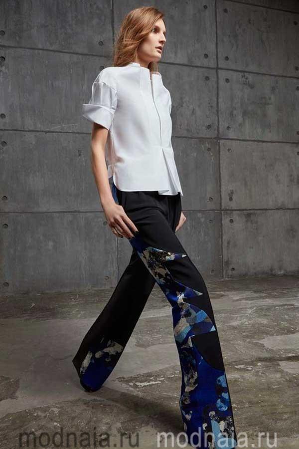 модные-тенденции-блузок-весна-2017-Antonio-Berardi