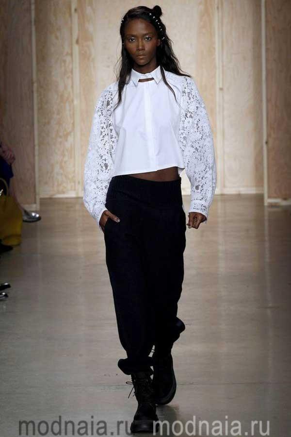 модные-тенденции-блузок-весна-2017-DKNY