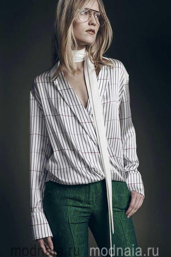 модные-тенденции-блузок-весна-2017-года-Hellessy
