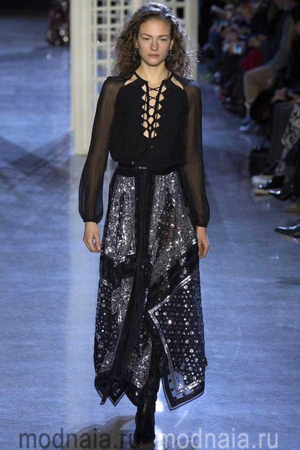 Прозрачно призрачная мода; тенденции на блузки в 2017 году?