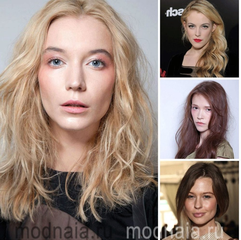 Фото модных тенденций 2017 женских стрижек на длинные волосы