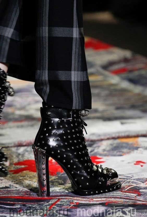 Женская обувь сезона осень 2017 года
