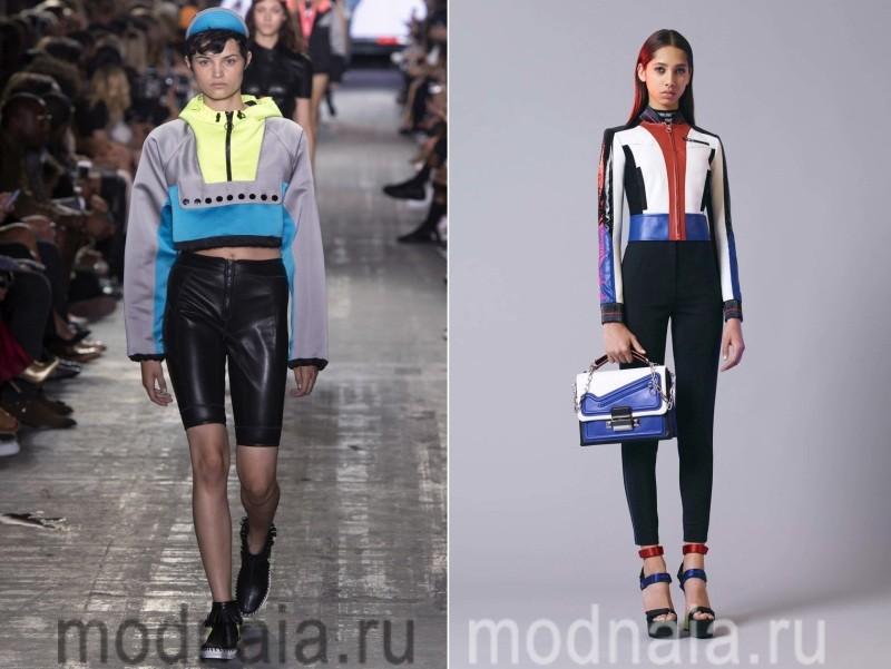Короткие спортивные куртки женские весна 2017