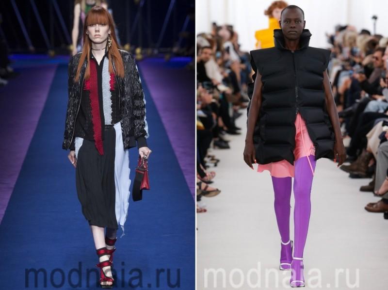 Модные дутые женские куртки весна 2017