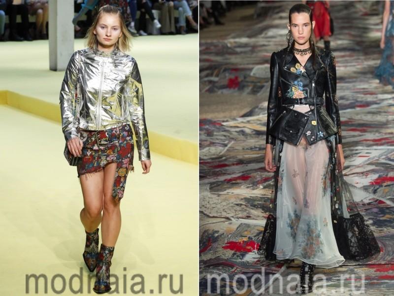 Оригинальные куртки женские весна 2017
