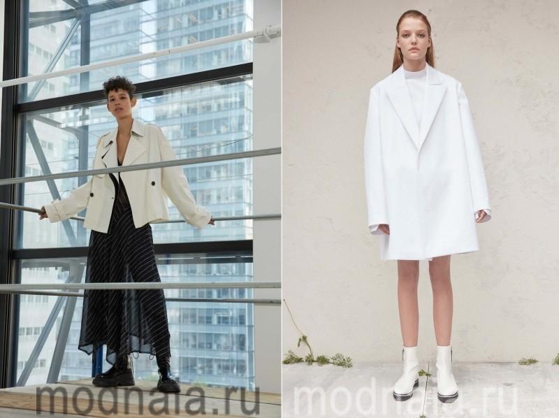 Белые женские куртки весна 2017
