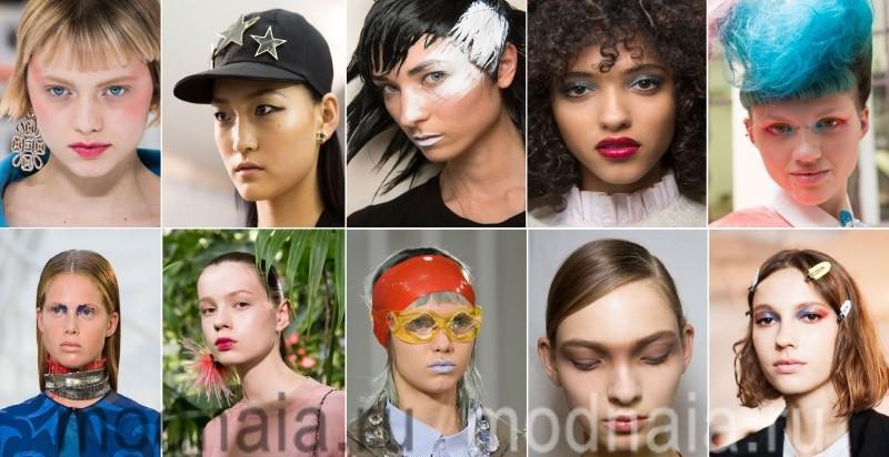 актуальный макияж 2017