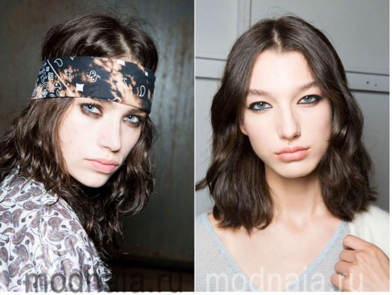 модный макияж весна лето 2017 - акцент на глаза