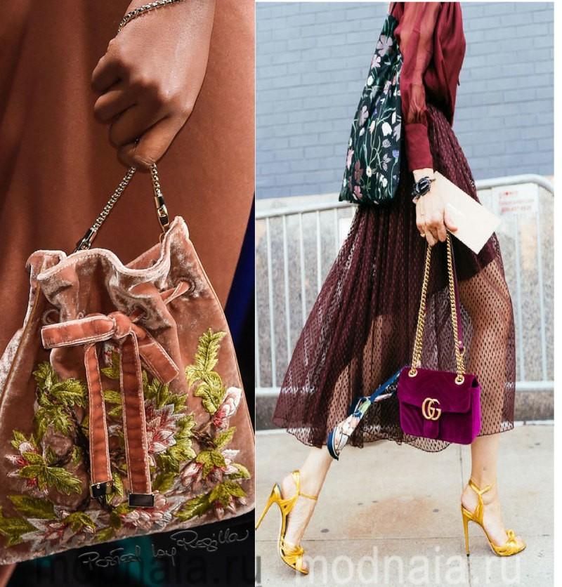 Модные сумки: тенденции 2017 года - лучшие мягкие материалы
