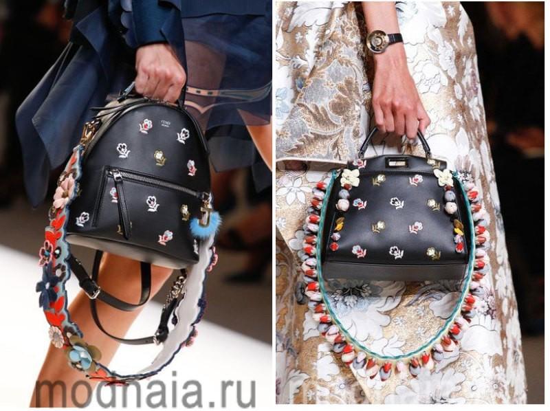 Модные сумки 2017 - модные тенденции