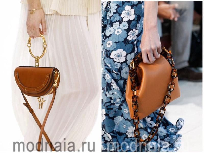 Модные сумки: тенденции 2017 года - натуральная кожа