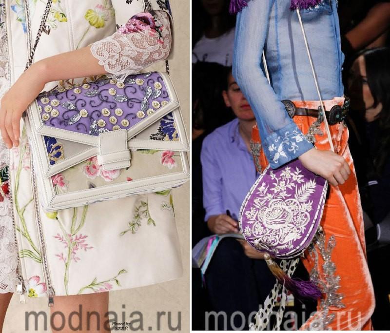 Модные сумки: тенденции 2017 года - летние варианты из ткани