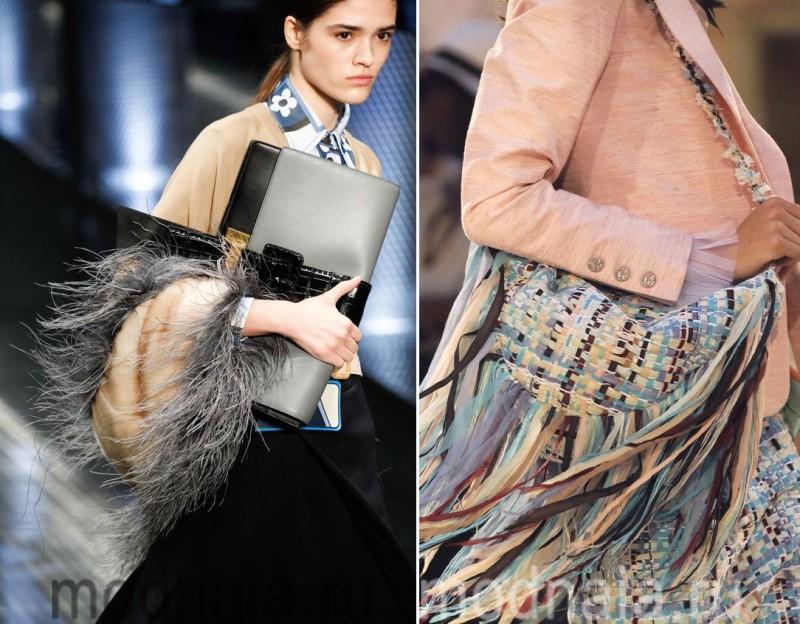 Модные сумки: тенденции 2017 года - отделка из меха
