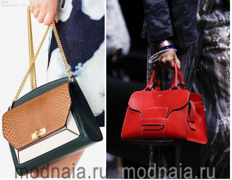 Модные сумки - тенденции 2017 года, деловые варианты