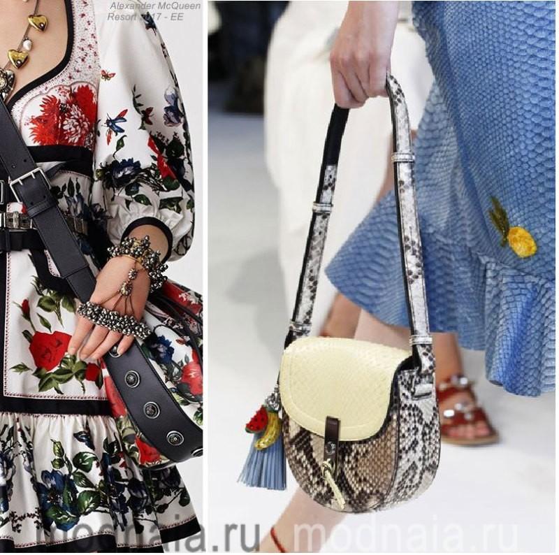 Модные сумки: тенденции 2017 года - креативные модели