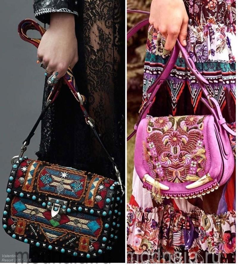 Модные сумки: тенденции 2017 и 2018 годов - стиль бохо