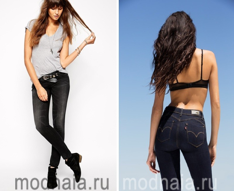 Моделирующие фигуру джинсы Levi's
