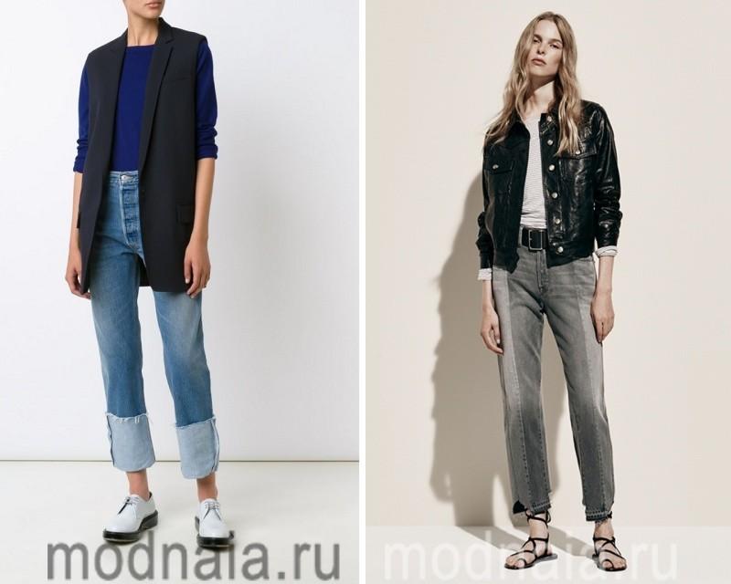 Модный тренд - джинсы бойфренды 2017