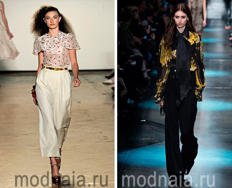 модные блузки весна лето 2017
