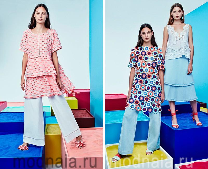 Модные Брюки Лето 2017 С Доставкой