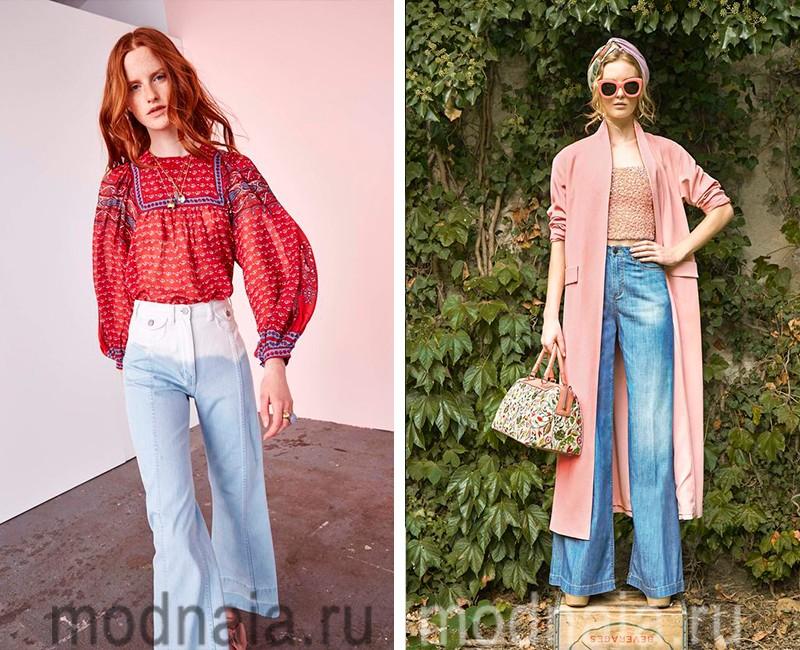Модные джинсы сезона весна 2017 с завышенной талией