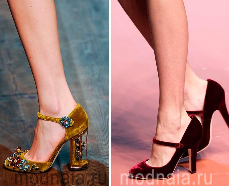 модные туфли весна 2017 фото женские