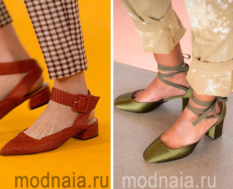 Модные туфли сезона весна 2017, фотографии модной обуви, и другие  женские «слабости»