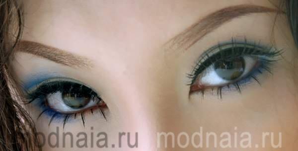 Стрелки для глаз азиатской формы