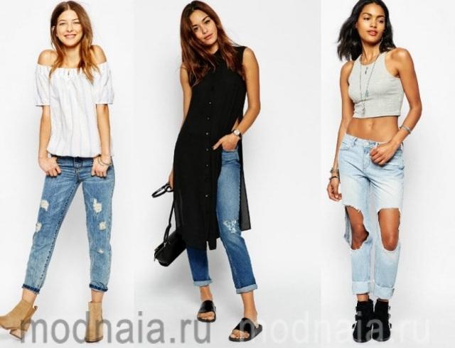 С чем носить джинсы: советы модных блогеров