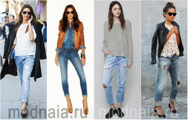 модные джинсы 2017