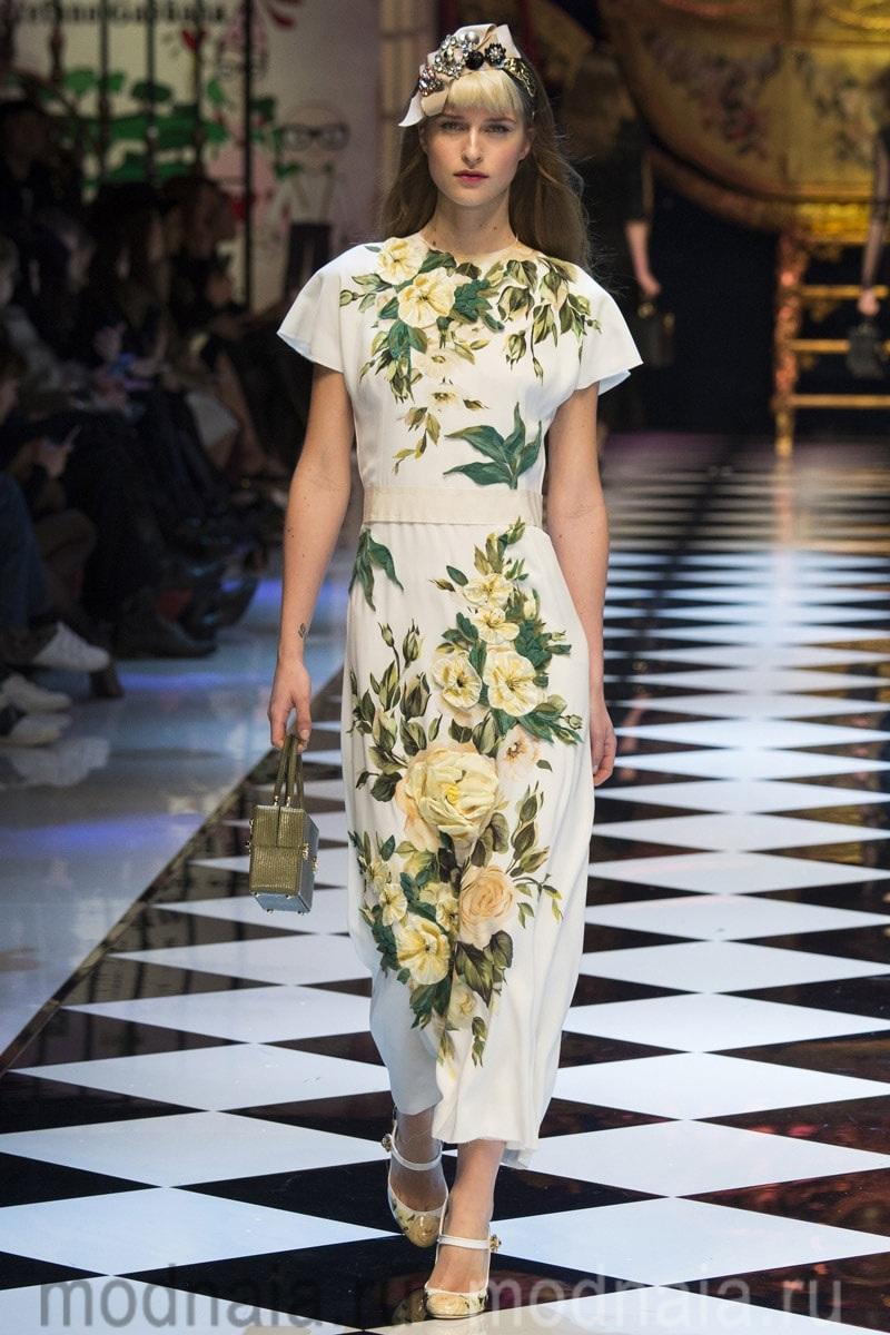 Модные тенденции весна— лето 2017