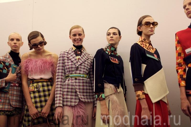 модные тенденции весна лето 2017 коллекция Prada