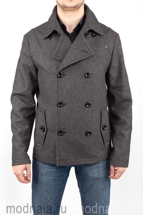 мужское пальто Бушлат