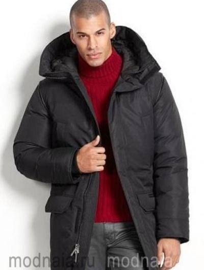 пуховое пальто на зиму