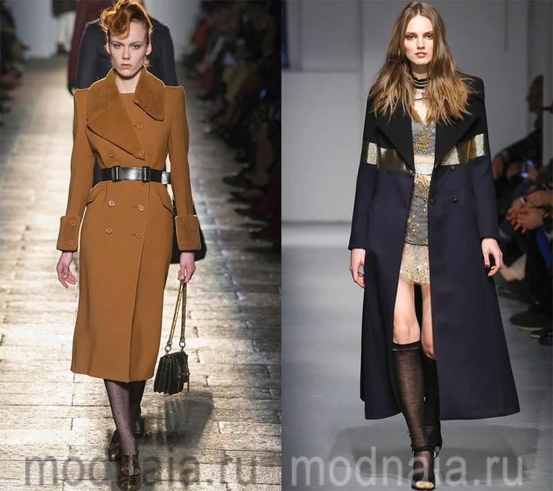 модные женские шерстяные пальто 2018