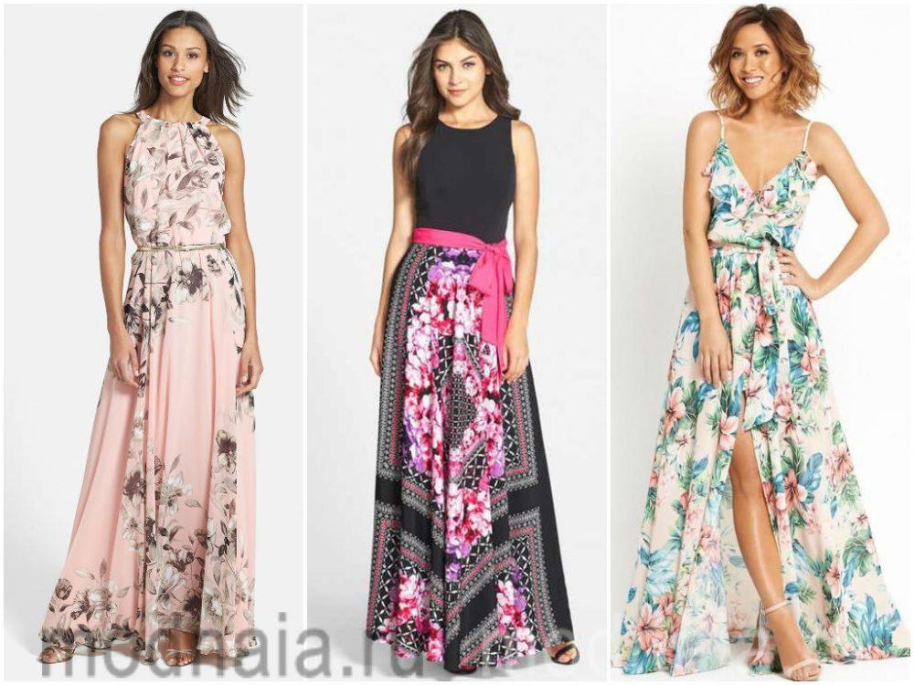Летние платья: что модно этим летом